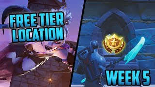 Season 6, Week 5 | *SECRET* Battle Star Location! (Free Tier) - Fortnite