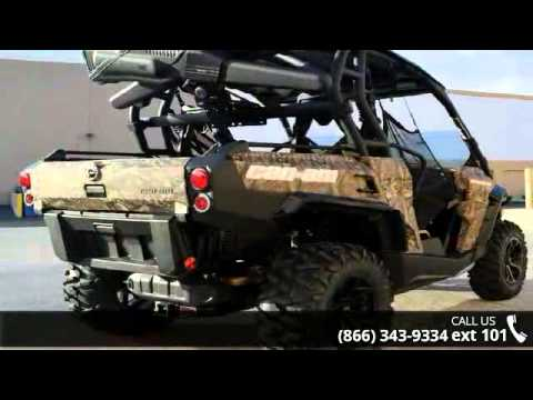 Can Am Commander For Sale >> 2016 Can-Am Commander Hunting Edition 1000 Mossy Oak Brea ...