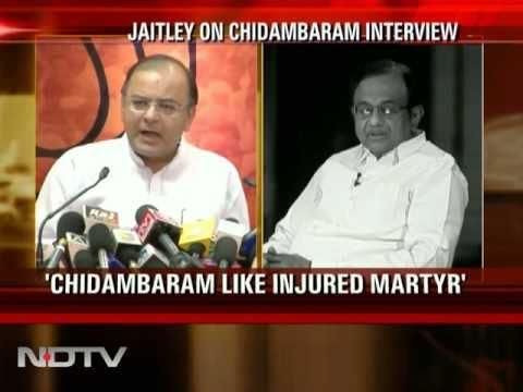 Jaitley-Chidambaram face-off on Naxal issue
