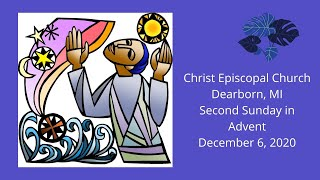 Second Sunday in Advent December 6 2020