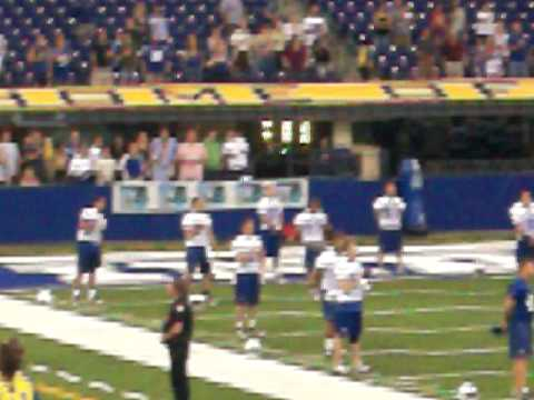 Colts first National Anthem of season 2010