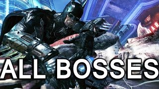 Batman Arkham Knight: All Bosses and True Ending (4K 60fps)