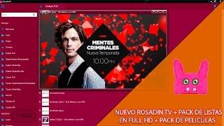 Rosadin TV + Pack de Listas en Full HD ║10 Noviembre 2016