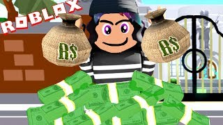 I STOLE ALL OF HIS ROBUX!!! *NEW Rob The Mansion OBBY* | Roblox