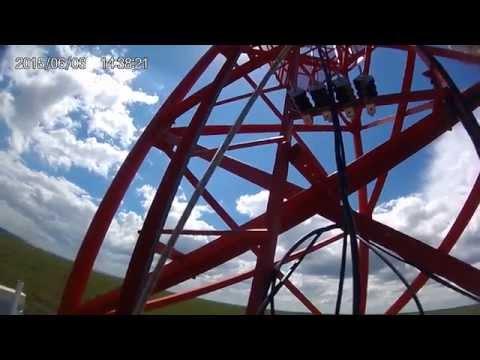 ESCALANDO TORRE A 40 Mts Y REVISION DE JUMPER