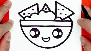 draw easy drawings google nachos