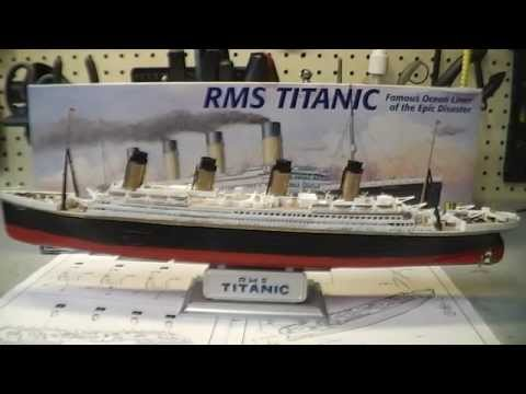 RMS Titanic Scale Model Build and Paint