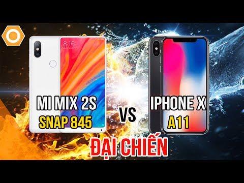 Hiệu năng Xiaomi Mi Mix 2S - Sau S9 Plus gõ đầu iPhone X