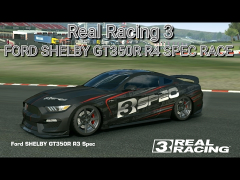 Real Racing 3 (Ford Shelby  GT350R R3 SPEC RACE)