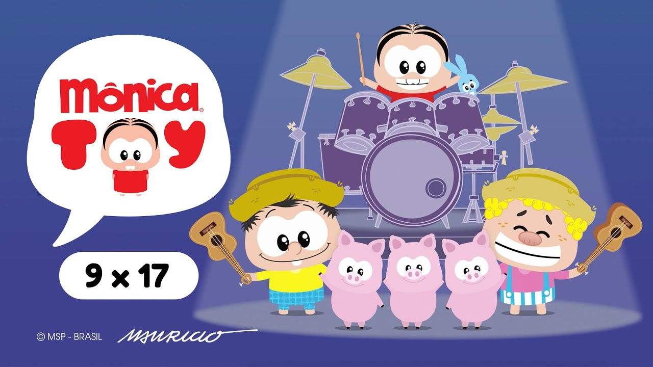 Mônica Toy   Chico Metalêro e os Três Toys Toys (T09E17)