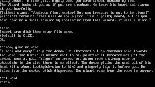 Zork II The Wizard of Frobozz - 05 Robbing the bank & escaping