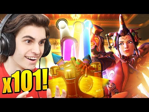 101 YEAR OF THE DOG LOOTBOX OPENING! All skins & Emotes unlocked!