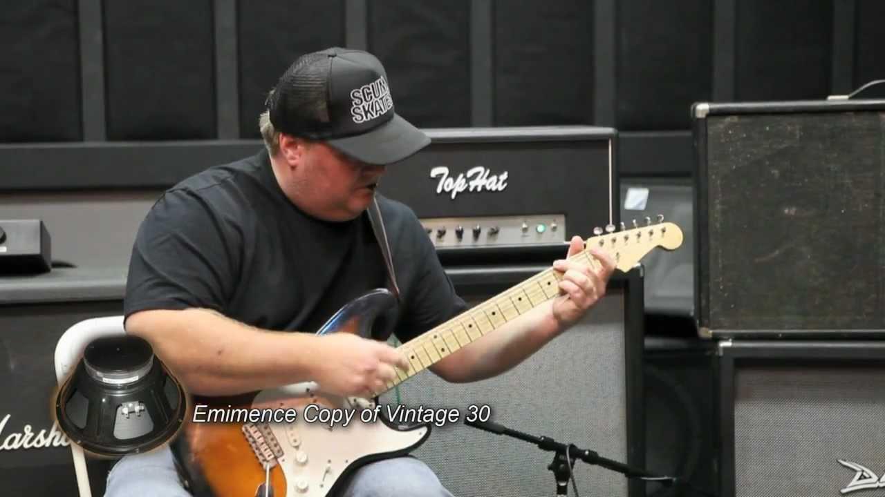 clean guitar speaker shootout celestion jbl d120 altec lansing using top hat amp head youtube. Black Bedroom Furniture Sets. Home Design Ideas