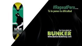 BUNKER SKATE SHOP: #RepeatPero - Gánate una de nuestras tablas