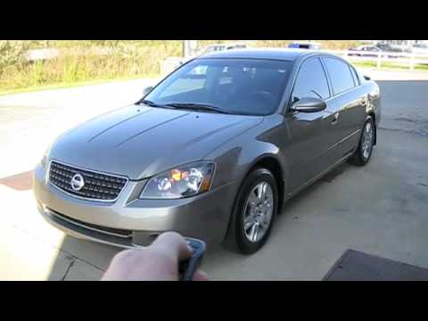 2005 Nissan Altima Full In Depth Tour, Start Up, and Driving - YouTube
