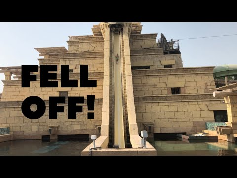 CRAZY ACCIDENT AT ATLANTIS WATERPARK IN DUBAI!!