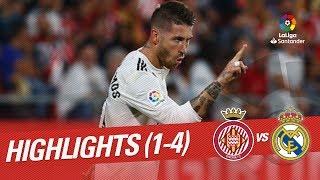 Resumen de Girona FC vs Real Madrid (1-4)
