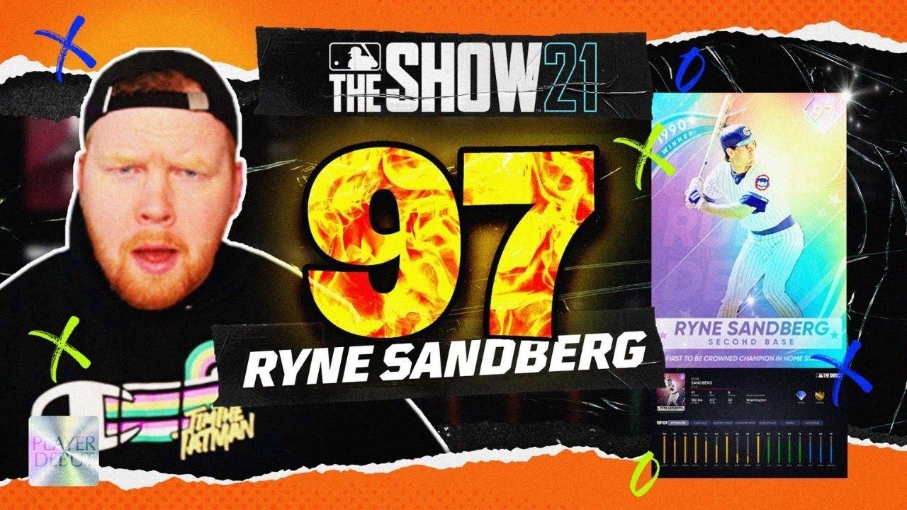 *97* Ryne Sandberg Player Debut In MLB The Show 21!!