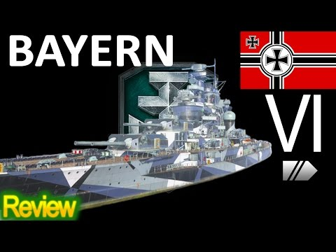 World of Warships - Bayern - Replay