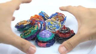 Đồ Chơi Trẻ Em Con Quay - Bộ đồ chơi con quay trong phim hoạt hình Vòng Xoáy Thần Tốc