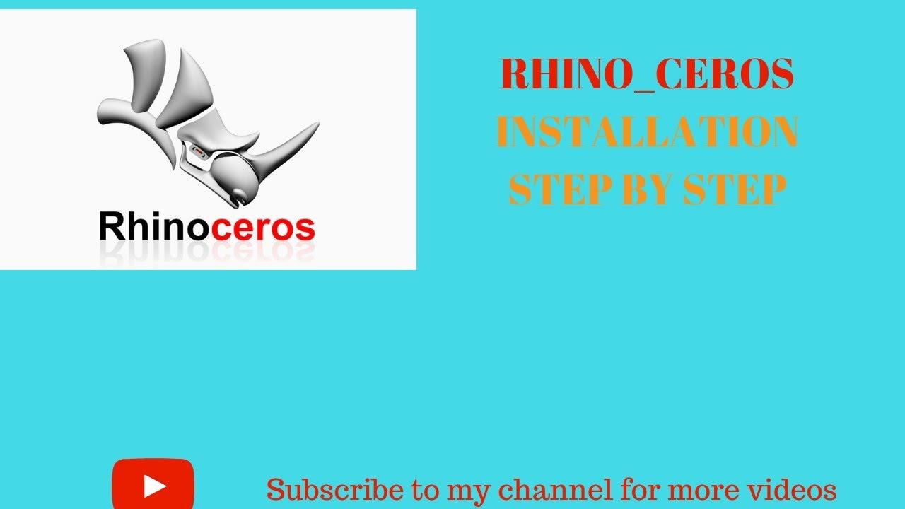 how to install Rhino ceros 2019 || Rhino ceros 2019 installation