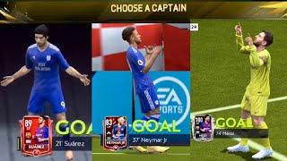 MESSI CELEBRATION IN FIFA MOBILE 19 / Barcelona and La Liga Team gameplay In fifa Mobile 19