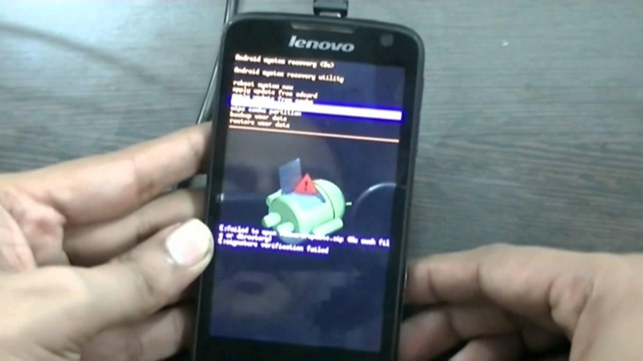 Unlock Lenovo S560 by Hard Reset - YouTube