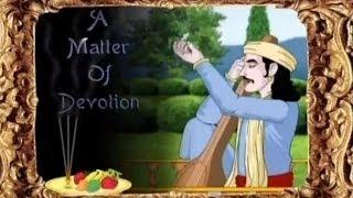 akbar birbal in marathi a matter of devotion animation stories for kids
