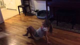 Sofia dances to Mean by Taylor Swift