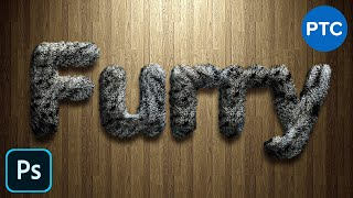 Realistic Furry Text Effect in Photoshop