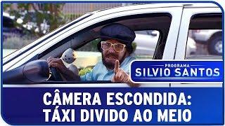Câmera Escondida: Táxi Dividido ao Meio