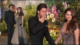 Shah Rukh Khan and Gauri Khan At Sonam Kapoor Wedding Reception
