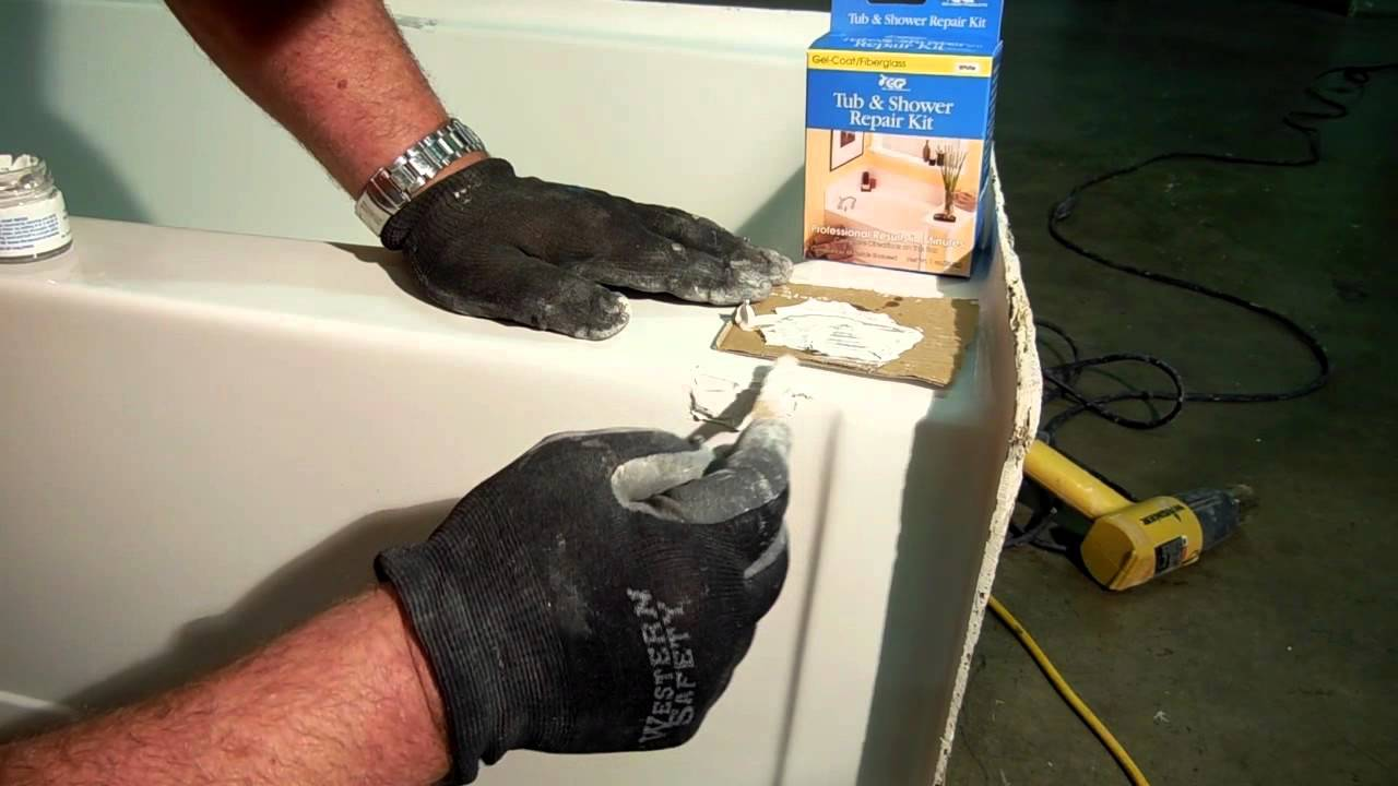 GCP Tub and Shower Repair Kit - YouTube