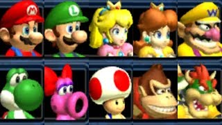 Mario Kart Double Dash - All Characters