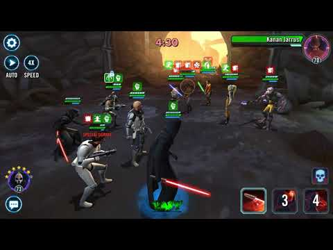 Star Wars Galaxy Of Heroes - Phoenix Squad Viability In Newer Arena Shards