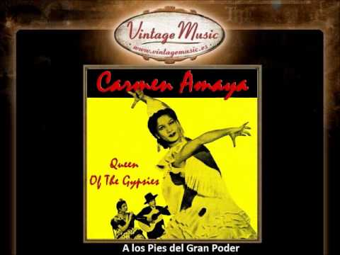 Carmen Amaya - A los Pies del Gran Poder (VintageMusic.es)