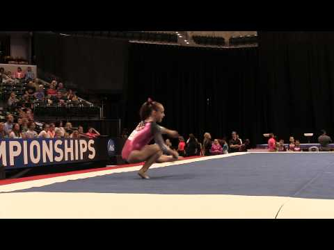 Colbi Flory – Floor Exercise – 2015 P&G Championships – Jr. Women Day 1