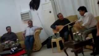 Omer Gondi and Shojaat Ali : Kurdish and Pakistani Song together in Duhok Kurdistan