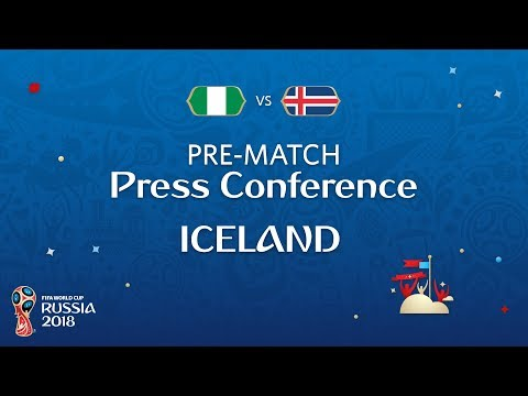 FIFA World Cup™ 2018: Nigeria  Iceland: Iceland  PreMatch PC
