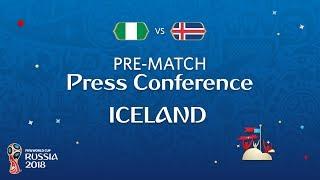 FIFA World Cup™ 2018: Nigeria - Iceland: Iceland - Pre-Match PC