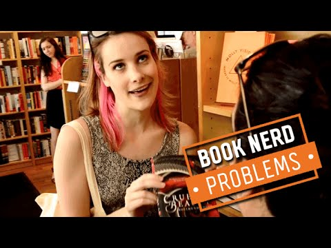 Book Nerd Problems | Wishing You Worked at a Bookstore
