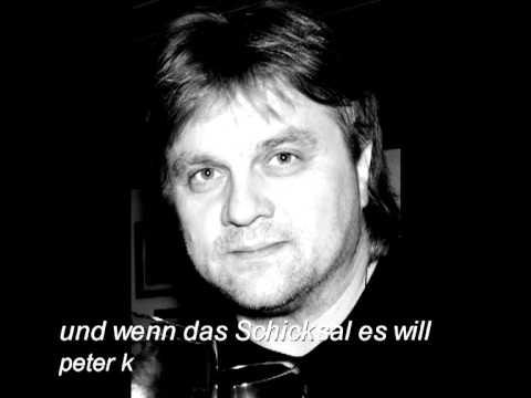 peter k- und wenn das Schicksal es will (Cover)