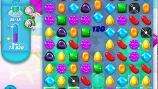 Candy Crush Soda Saga - level 374 (3 star, No boosters)