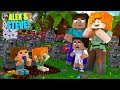 Minecraft BABY ALEX & BABY STEVE ARE BACK FROM THE DEAD!!! Life of Alex & Steve