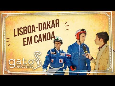Gato Fedorento - Lisboa-Dakar em canoa
