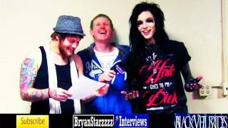 Black Veil Brides Interview #5 Andy Biersack Featuring Danny Worsnop Asking Alexandria 2012