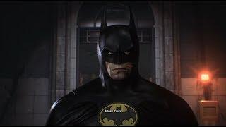 Batman: Arkham Knight (PC)(Tim Burton Suit Walkthrough)[Part 14] - The Perfect Crime