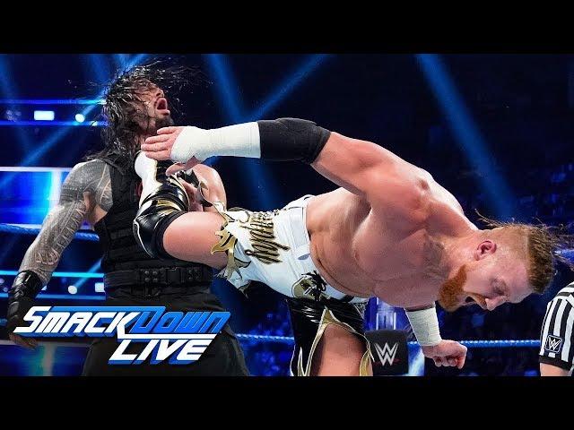 HINDI - Roman Reigns vs. Buddy Murphy: SmackDown LIVE, August 14, 2019