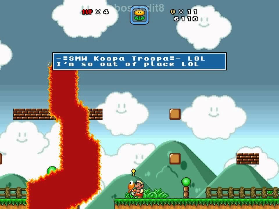 Super Mario Bros  X (SMBX) Custom Level - Messed-Up Mario Bros: 1-1