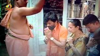 Actor Charan Raj carries gun inside Kanipakam Vinayaka temple